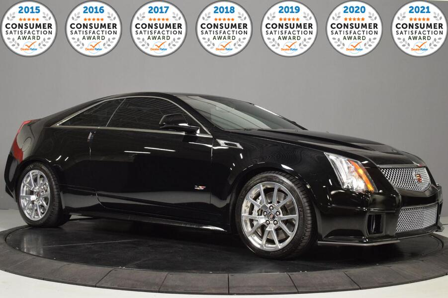 2011_Cadillac_CTS-V Coupe__ Glendale Heights IL