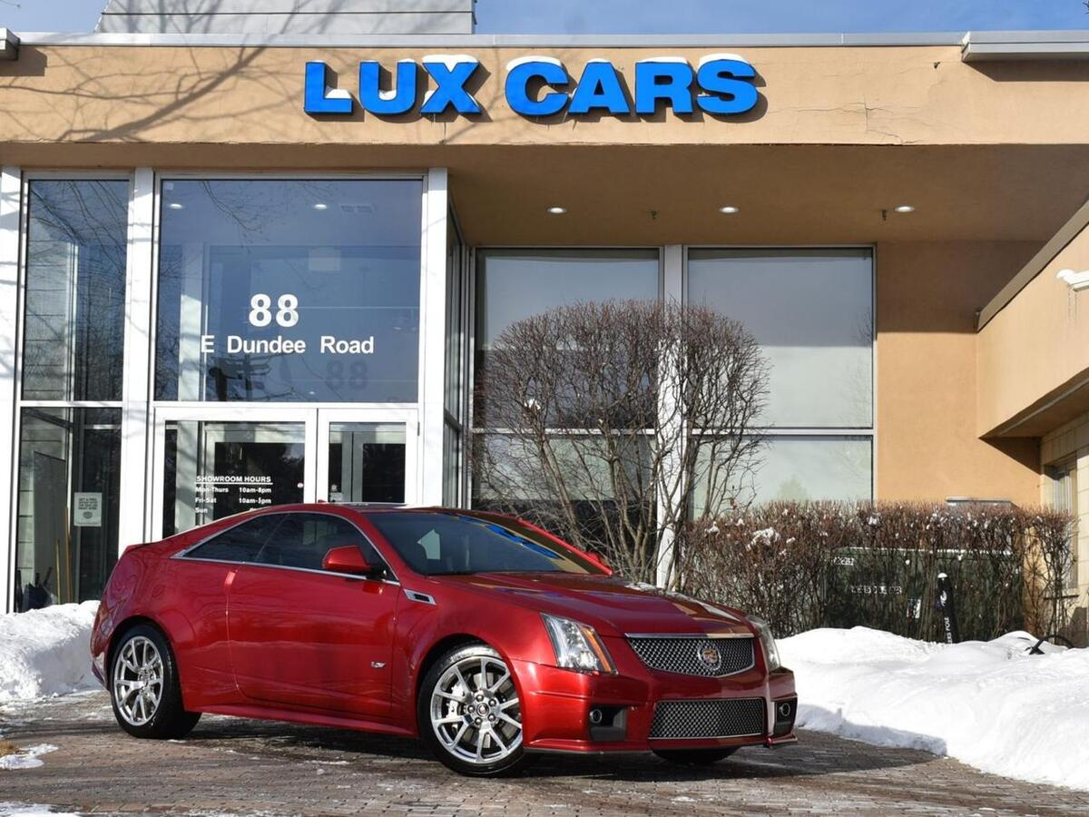 2011_Cadillac_CTS-V Coupe_Nav Sunroof MSRP $66,345_ Buffalo Grove IL