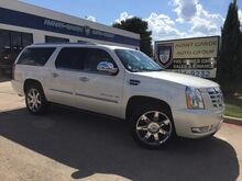 2011_Cadillac_Escalade AWD ESV Premium NAVIGATION, REAR VIEW CAMERA_PARKING SENSORS, HEATED/COOLED LEATHER, POWER RUNNING BOARDS, REAR ENTERTAINMENT SYSTEM, GREAT COLOR COMBO!!! LOADED!!! ONE LOCAL OWNER!!!_ Plano TX