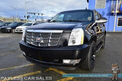2011_Cadillac_Escalade_Luxury / AWD / Heated & Cooled Leather Seats / Heated Steering Wheel / Rear Heated Captain Seats / Sunroof / Navigation / Bose Speakers / Rear Entertainment / Auto Start / Back Up Camera / 3rd Row / Seats 7 / Tow Pkg_ Anchorage AK