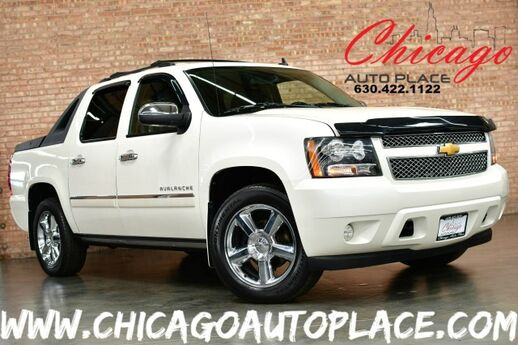 2011 Chevrolet Avalanche LTZ - 4WD 5.3L VORTEC FLEX-FUEL ENGINE 4 WHEEL DRIVE NAVIGATION BACKUP CAMERA BLACK LEATHER HEATED/COOLED SEATS SUNROOF BOSE AUDIO REAR TV/DVD Bensenville IL