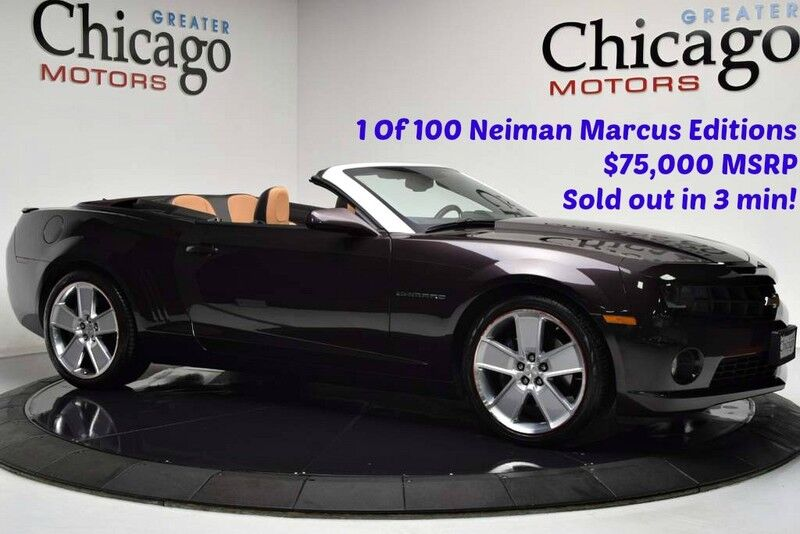 2011_Chevrolet_Camaro 2SS 1 Of 100 Neiman Marcus_Like New collectors quality_ Chicago IL