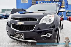 2011_Chevrolet_Equinox_LTZ / AWD / Heated Leather Seats / Navigation / Sunroof / Auto Start / Rear Entertainment / Pioneer Speakers / Bluetooth / Back-Up Camera / Low Miles / 32 MPG_ Anchorage AK