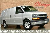 2011 Chevrolet Express Cargo Van 1 OWNER 4.3L VORTEC V6 MFI ENGINE REAR WHEEL DRIVE GRAY CLOTH INTERIOR REAR CARGO STORAGE HEAVY DUTY ALLOY WHEELS CHROME BUMPERS