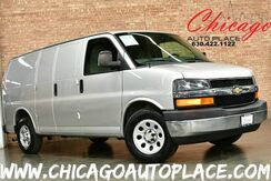 2011_Chevrolet_Express Cargo Van_1 OWNER 4.3L VORTEC V6 MFI ENGINE REAR WHEEL DRIVE GRAY CLOTH INTERIOR REAR CARGO STORAGE HEAVY DUTY ALLOY WHEELS CHROME BUMPERS_ Bensenville IL