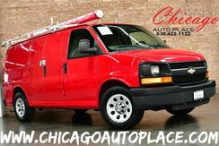 2011_Chevrolet_Express Cargo Van_1500 - 4.3L VORTEC V6 MFI ENGINE 1 OWNER REAR WHEEL DRIVE WORK READY REAR STORAGE RACKS ROOF STORAGE GRAY CLOTH INTERIOR_ Bensenville IL