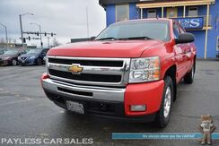 2011_Chevrolet_Silverado 1500_LT / 4X4 / 5.3L V8 / Crew Cab / Auto Start / Power Leather Seats / Seats 6 / Kenwood Radio / Bluetooth / Back Up Camera / HID Headlights / Power Adjustable Pedals / Bed Liner / Tow Pkg_ Anchorage AK