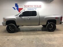 2011_Chevrolet_Silverado 1500_LT 4x4 Lifted Black Fuel Wheels 35 Nitto Tires Kenwood Touch Screen_ Mansfield TX
