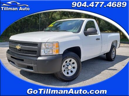 2011_Chevrolet_Silverado 1500_Work Truck 2WD_ Jacksonville FL