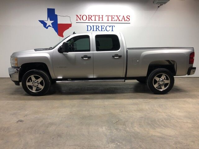 2011 Chevrolet Silverado 2500HD LT2 4x4 Duramax Diesel Allison Crew Cab Short Bed Leather Mansfield TX