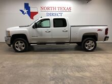 2011_Chevrolet_Silverado 2500HD_LTZ 4WD Diesel Heated Leather Aux Cord Parking Sensors_ Mansfield TX