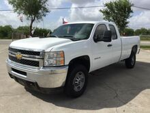 2011_Chevrolet_Silverado 2500HD_Work Truck Ext. Cab Long Box 2WD_ Corpus Christi TX
