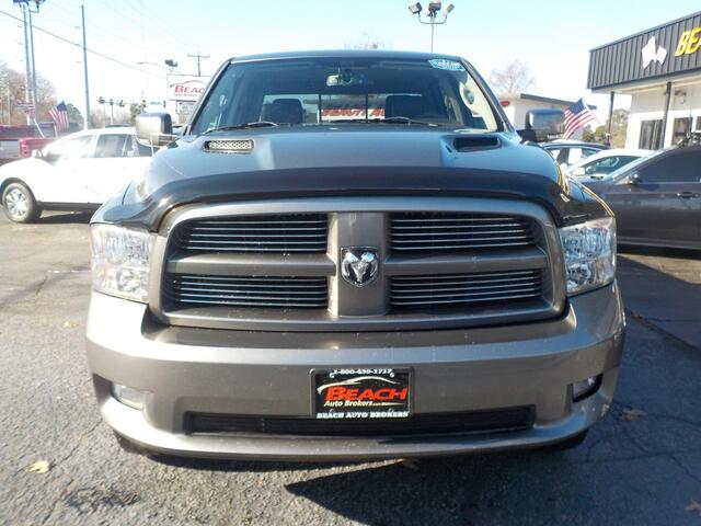 2011 DODGE RAM 1500 SPORT 4X4, BUYBACK GUARANTEE, WARRANTY, HEMI, LEATHER, SUNROOF, NAVIGATION, TONNEAU COVER,NICE! Norfolk VA