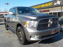 2011_DODGE_RAM_1500 SPORT CREW CAB 4X4, WARRANTY, HEMI, LEATHER, SUNROOF, NAV, RUNNING BOARDS, BACKUP CAM, TOW PKG!_ Norfolk VA