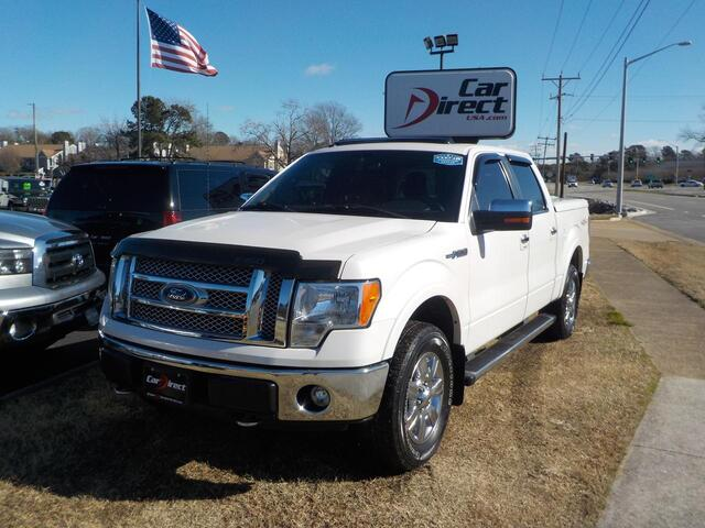 2011 FORD F-150 LARIAT 4X4, BUY BACK GUARANTEE AND WARRANTY, NAV, SONY SOUND, BLUETOOTH, SUNROOF, REMOTE START!! Virginia Beach VA
