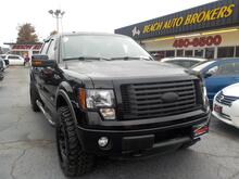 2011_FORD_F-150_FX4 OFF ROAD 4X4, BUYBACK GUARANTEE, WARRANTY, LEATHER, HEATED SEATS, TOW PKG, BACKUP CAM,VERY NICE!_ Norfolk VA