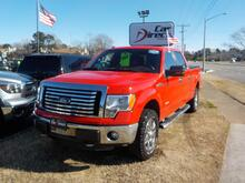 2011_FORD_F-150_SUPERCREW XLT 4X4, BUY BACK GUARANTEE AND WARRANTY,  BLUETOOTH, BED LINER, BED COVER, TOW PKG!_ Virginia Beach VA