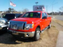 2011_FORD_F-150_XLT 4X4, BUY BACK GUARANTEE AND WARRANTY,  BLUETOOTH, BED LINER, BED COVER, TOW PKG, BEAUTIFUL RED!!_ Virginia Beach VA