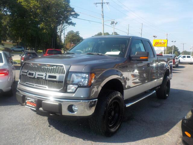 2011 FORD F-150 XLT SUPERCAB 4X4, BUYBACK GUARANTEE, WARRANTY, OFF ROAD PKG, BACKUP CAM, SIRIUS RADIO, TOW PKG! Norfolk VA