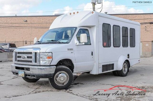2011 Ford E350 Econoline Cutaway With Wheelchair Lift 3dr VAN Chicago IL