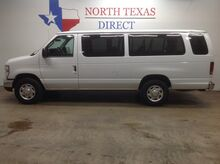 2011_Ford_Econoline Wagon_FREE DELIVERY XLT 15 Passenger Van Rear Ac Park Assist Ladder Rack_ Mansfield TX