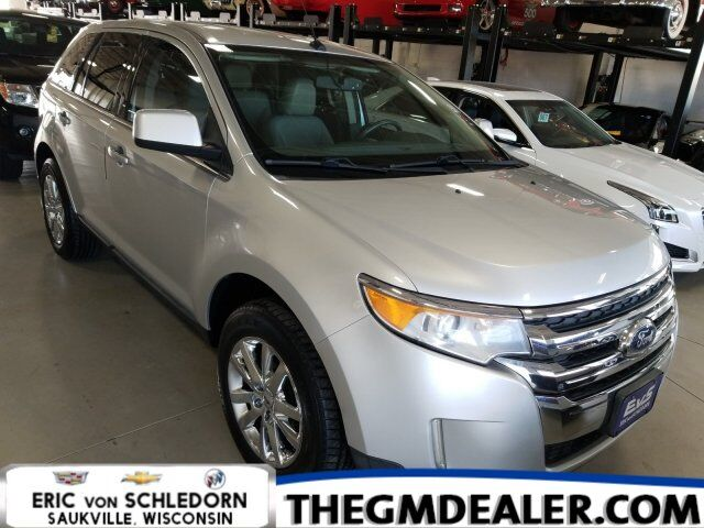 2011 Ford Edge Limited AWD w/HtdMemLthr RearCamera Milwaukee WI