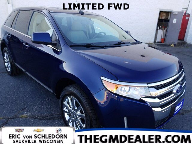 2011 Ford Edge Limited FWD w/HtdMemLthr RearCamera Milwaukee WI