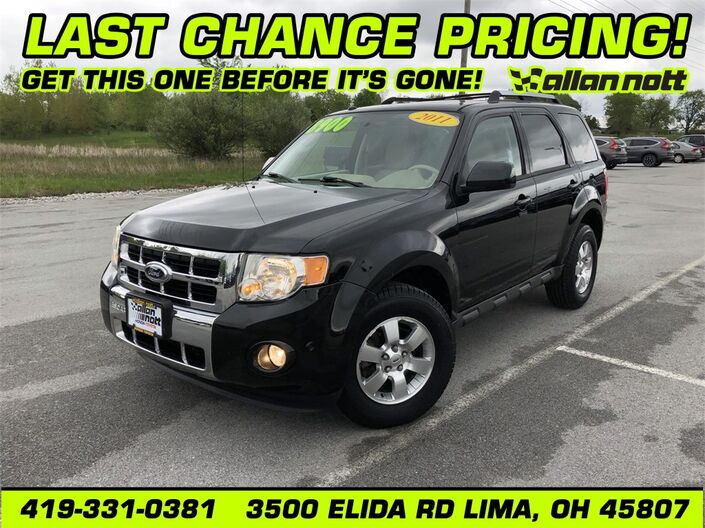 2011 Ford Escape Limited Lima OH