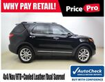 2011 Ford Explorer 4WD Limited w/Nav & Sunroof