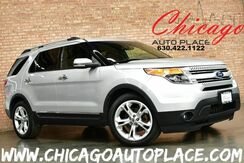 2011_Ford_Explorer_Limited - 1 OWNER 3.5L V6 ENGINE FRONT WHEEL DRIVE BLACK LEATHER HEATED/COOLED SEATS CAPTAINS CHAIRS POWER FOLD 3RD ROW SEATING POWER LIFTGATE MICROSOFT SYNC_ Bensenville IL