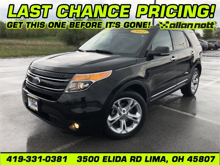 2011 Ford Explorer Limited Lima OH