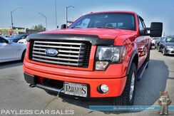 2011_Ford_F-150_FX4 / 4X4 / Crew Cab / 3.5L V6 Ecoboost / Power Driver's Seat / Auto Start / Sunroof / Microsoft Sync Bluetooth / Back Up Sensors / Cruise Control / Running Boards / Bed Liner / Block Heater / Tow Pkg_ Anchorage AK