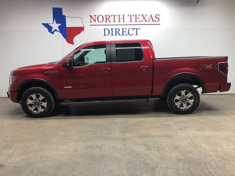 2011 Ford F-150 FX4 4x4 EcoBoost Camera Sync Heated Leather Towing Mansfield TX