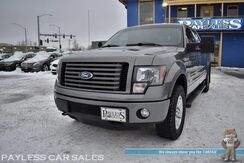 2011_Ford_F-150_FX4 / Off-Road Pkg / 4X4 / Crew Cab / 3.5L V6 Ecoboost / Power & Heated Leather Seats / Sunroof / Sony Speakers / Auto Start / Bluetooth / Back Up Camera / Power Adjustable Pedals / Bed Liner / Tonneau Cover / Tow Pkg_ Anchorage AK