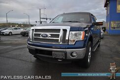 2011_Ford_F-150_Lariat / 4X4 / 3.5L Ecoboost / Crew Cab / Power & Heated Leather Seats / Sunroof / Navigation / Sony Speakers / Microsoft Sync Bluetooth / Back Up Camera / Rear Parking Aid / Bed Liner / Block Heater / Tow Pkg_ Anchorage AK