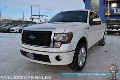 2011_Ford_F-150_Lariat Limited / 4X4 / Crew Cab / 6.2L V8 / Auto Start / Heated & Cooled Leather Seats / Navigation / Sunroof / Sony Speakers / Bluetooth / Back Up Camera / Cruise Control / Bed Liner / Tow Pkg_ Anchorage AK