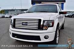 2011_Ford_F-150_Lariat Limited / 4X4 / Crew Cab / 6.2L V8 / Heated & Ventilated Leather Seats / Auto Start / Sunroof / Sony Speakers / Navigation / Bluetooth / Back Up Camera / Matching Tonneau Cover / Bed Liner / Block Heater / Tow Pkg / 1-Owner_ Anchorage AK