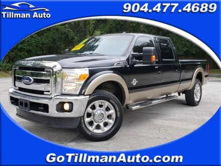 2011_Ford_F-350 SD_Lariat Crew Cab Long Bed 4WD_ Jacksonville FL