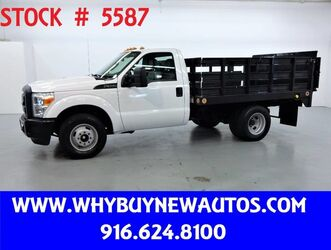 Ford F350 ~ 9ft Stake Bed ~ Liftgate ~ Only 15K Miles! 2011