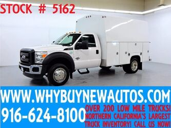Ford F450 ~ Tall Box Utility ~ Diesel ~ Only 43K Miles! 2011