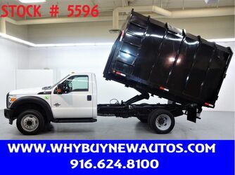 Ford F550 ~ Diesel ~ 12ft Chipper Bed ~ Only 38K Miles! 2011