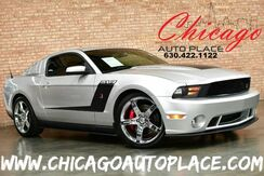 2011_Ford_Mustang_ROUSH 5XR - 5.0L SUPERCHARGED V8 ENGINE 525HP 465 LB/FT TORQUE JLT COLD AIR INTAKE 6-SPEED MANUAL TRANSMISSION CUSTOM ROUSH BLACK INTERIOR_ Bensenville IL