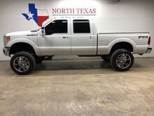 2011_Ford_Super Duty F-250 SRW_FX4 4X4 Leather Lifted Camera 37 Mud Tires 22 Wheel_ Mansfield TX