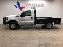 2011_Ford_Super Duty F-250 SRW_XL 4x4 6.7 Diesel Skirted Flat Bed 5th Wheel Ranch Hand_ Mansfield TX