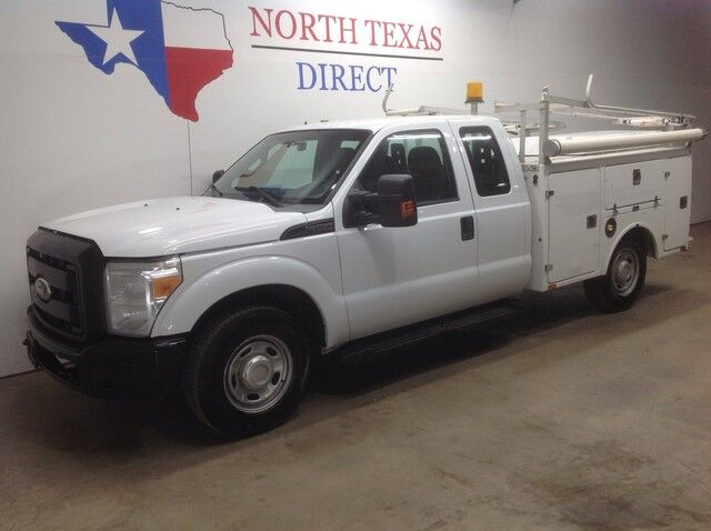 2011 Ford Super Duty F-250 SRW XL V8 4 Door Brand FX Utility Bed Bluetooth Keyless Sync Mansfield TX
