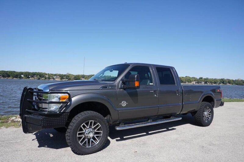 2011 Ford Super Duty F-350 SRW Lariat 6.7L Powerstroke Diesel Leather 4x4 New Tires Decatur IL