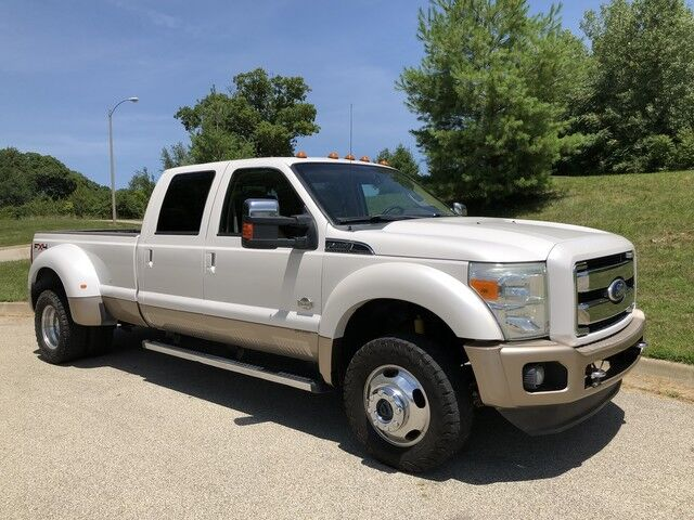 2011 Ford Super Duty F-450 DRW 6.7L Powerstroke Diesel 4x4 King Ranch 1-Owner Decatur IL