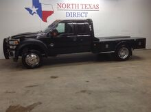 2011_Ford_Super Duty F-450 DRW_FREE DELIVERY XLT Diesel Skirted Flat Bed Bluetooth Towing_ Mansfield TX