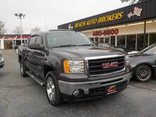 2011_GMC_SIERRA_1500 SLE CREW CAB 4X4,WARRANTY,LEATHER, SUNROOF, TOW PKG, RUNNING BOARDS, POWER DRIVERS SEAT,ONSTAR!_ Norfolk VA