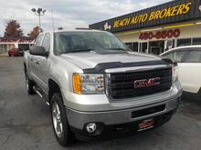2011_GMC_SIERRA_SLE CREW CAB 4X4, WARRANTY, REMOTE START, TONNEAU COVER, RUNNING BOARDS, TOW PKG, PARKING SENSORS!_ Norfolk VA